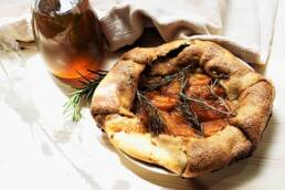 Tarte abricot au sirop de romarin