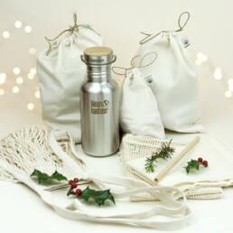 Cadeau de Noel kit zéro déchet extérieur