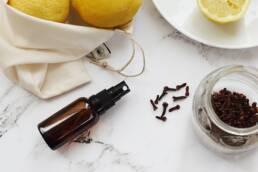 Lotion tonique assainissante clous de girofle citron