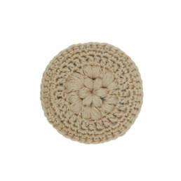 Cadeau écologique disque démaquillant lavable en coton