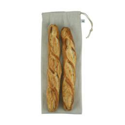 Cadeau écologique sac à pain sac à baguette en lin