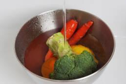Eau de rinçage des fruits et légumes